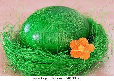 Green Easter Egg