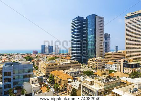 Panorama Of The City Tel Aviv