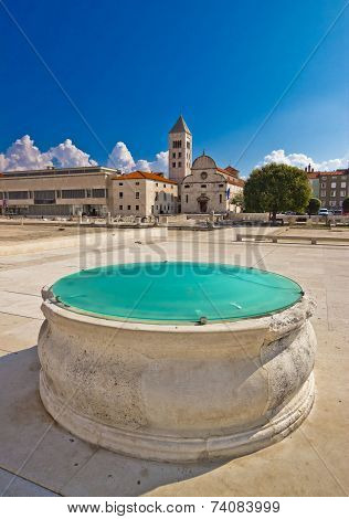 Zadar Historic Forum Square View