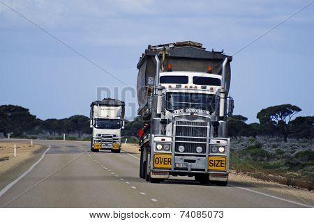 Two Large Australian Truck
