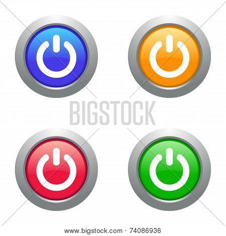 Web Power Buttons