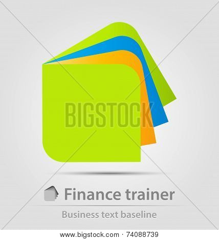 Finance Trainer Business Icon