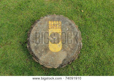 Buddha S Footprint In Thailand