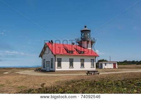 Fort Bragg, the lighthouse