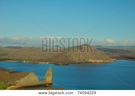 View from Batolome Island, Galapagos Islands