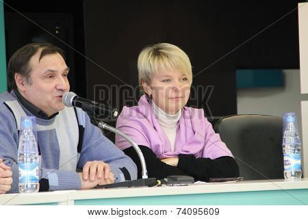 Expert Andrei Buzin And Policies Evgeniya Chirikova