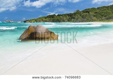 Perfect Beach, La Digue, Seychelles