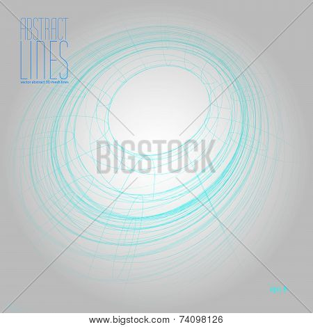 Abstract geometric background, contemporary style illustration, communication and digital technology