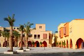 City Square In El-gouna, Egypt
