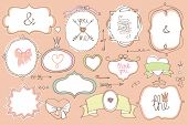 pic of crown  - Colored Doodles labels - JPG