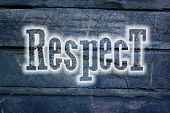 stock photo of respect  - Respect Concept text on background business idea - JPG