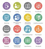 picture of storyboard  - This set contains 16 SEO and Usability Icons great for presentations - JPG