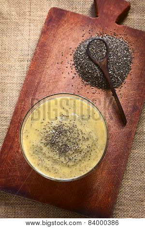 Chia Seed and Mango Pudding