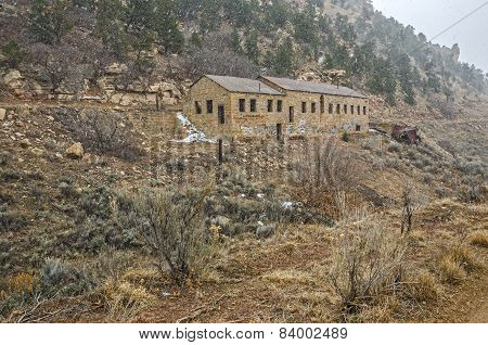 Large Abandoned Stone Building