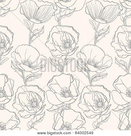 Gray Poppies