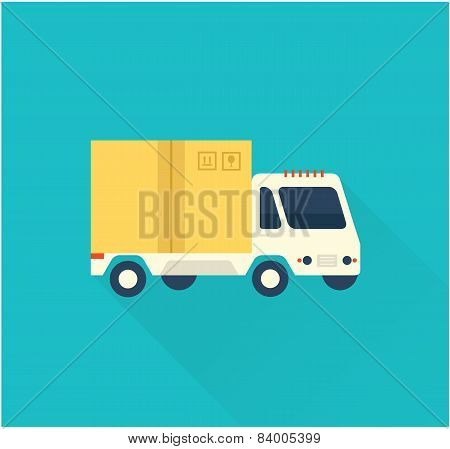 deliverty truck