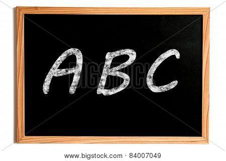 Abc Chalkboard