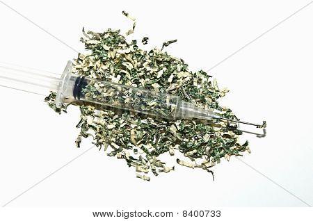 Syringe With Money