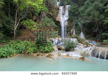 Water Fall Luang Prabang Laos