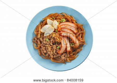 Fried Noodle With Minced Pork