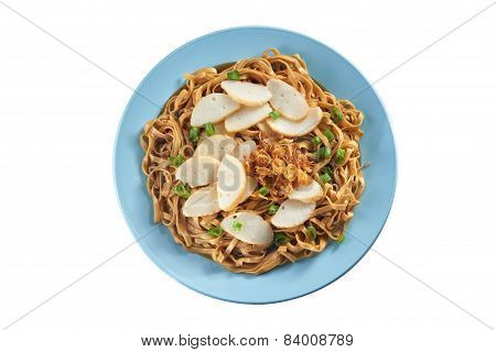 Fried Noodle With Fish Cake