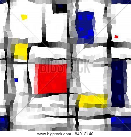 like Mondrian