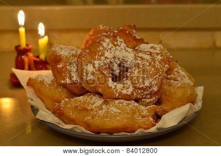 Moroccan Hanukkah Doughnuts