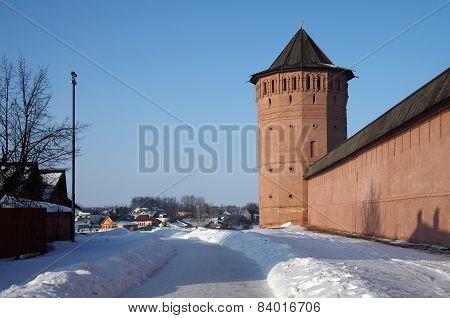 The Saviour Monastery Of St. Euthymius In Suzdal