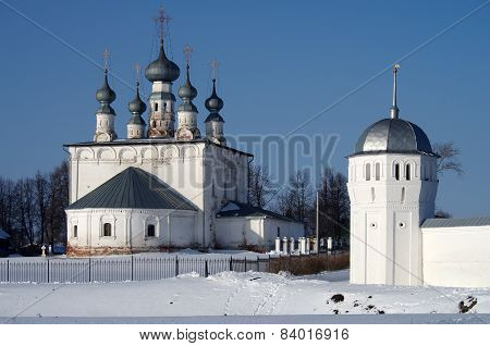 Convent Of The Intercession And Saints Peter And Paul Church In Suzdal
