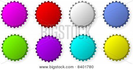 Color bottle Caps