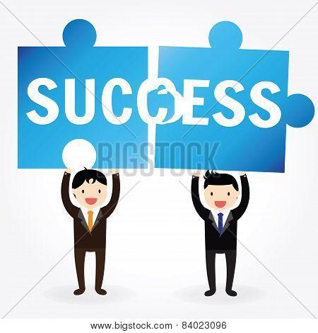 Success Jigsaw Pieces