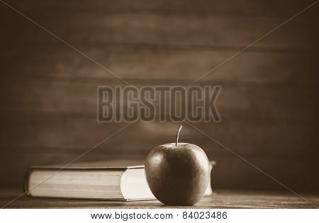 Apple And The Book.