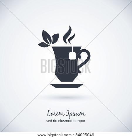 Tea cup logo