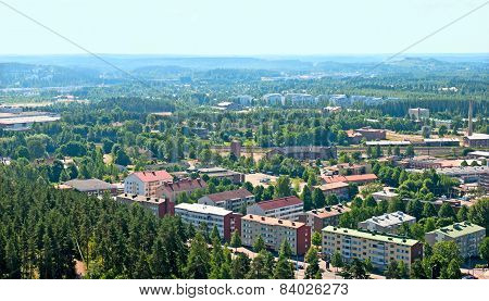 View of Lahti. Finland
