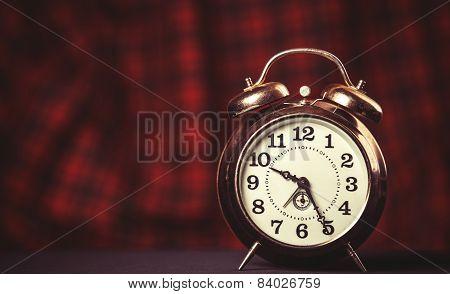 Retro Alarm Clock.
