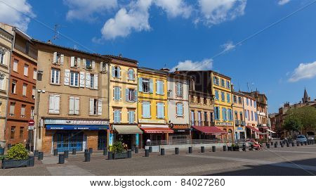 Place Arnaud Bernard In Toulouse