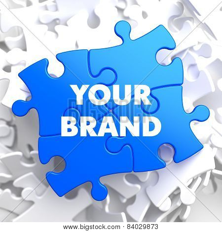 Your Brand on Blue Puzzle.