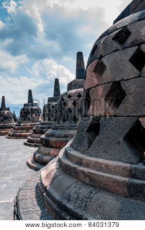 Stupa at Borobudur