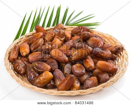 Date Fruits In A Dish