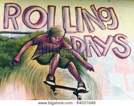A skater boy