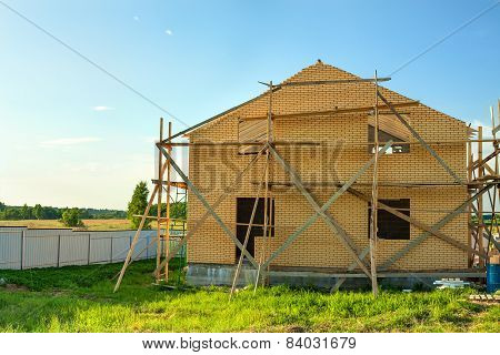 House Construction From  Bricks