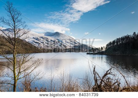 Thirlmere Reservoir And Helvellyn