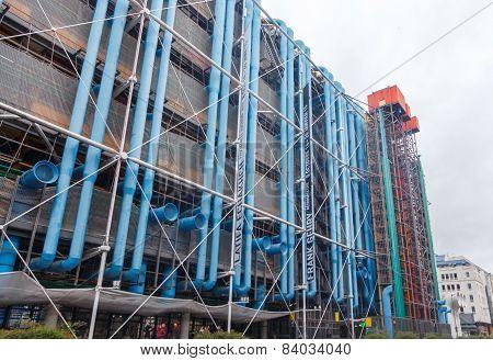 Paris. Arts Centre Pompidou.