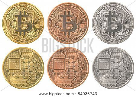 Bitcoins Collection Set