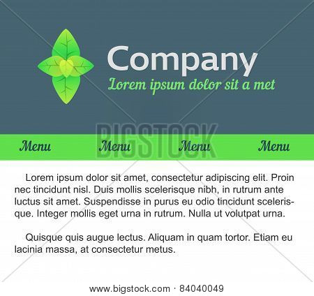 Logo And Template Webdesign