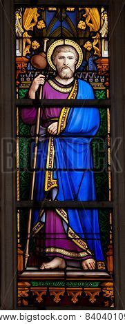 Stained Glass Window Of Saint James