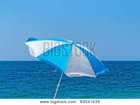 Parasol On The Shore
