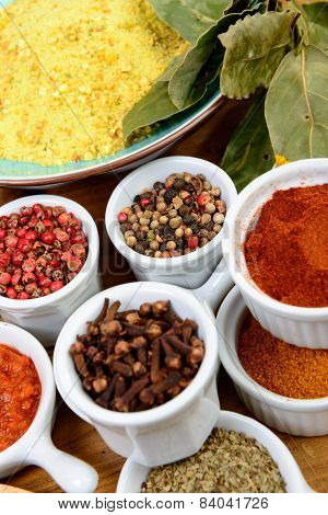 Assortment Of Indian Spices