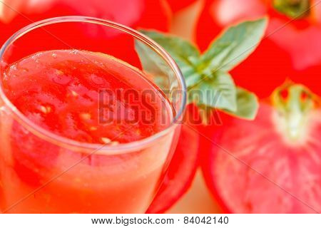 Tomato smoothie - tomato juice