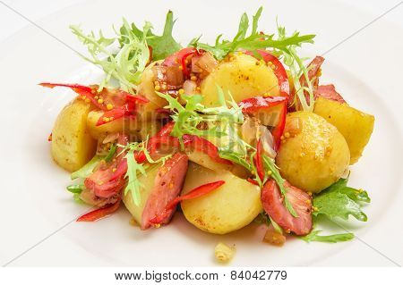 Potato with meat